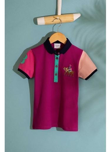 U.S. Polo Assn. Tişört Mor